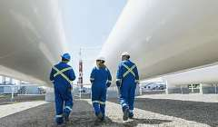Stories.Fotos Pm.SINOPEC.Workers At Gas Plantnsp 731